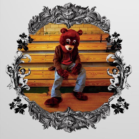 Kanye West - The College Dropout album cover
