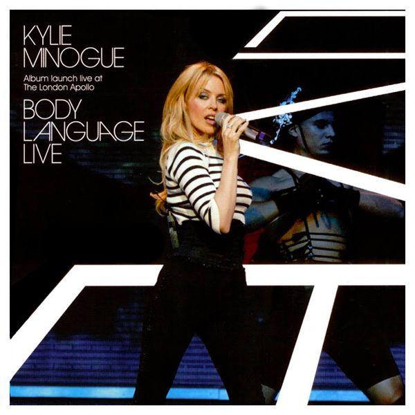 Kylie Minogue - Body Language album cover