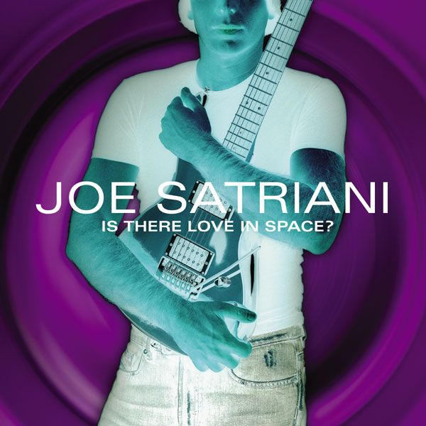 Joe Satriani - Is There Love In Space? album cover
