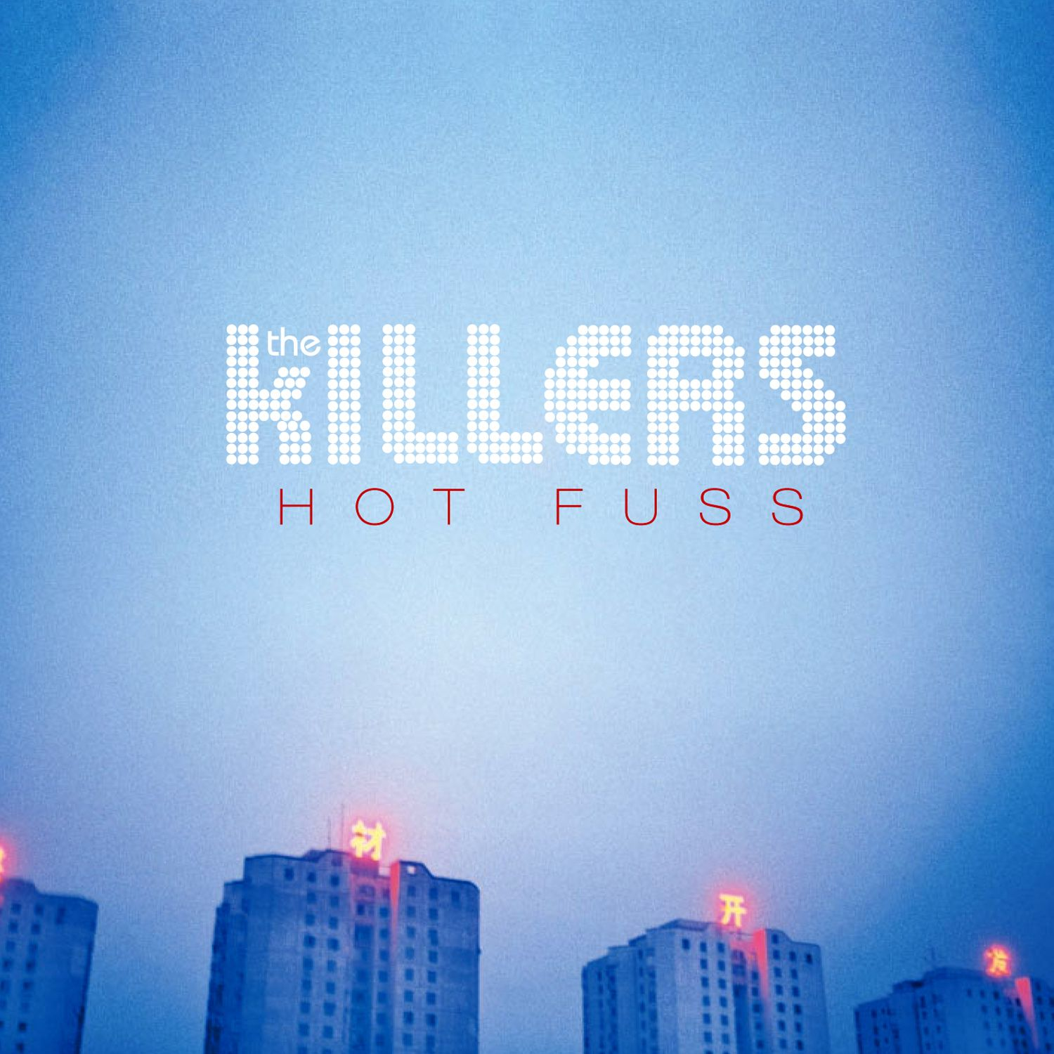 The Killers - Hot Fuss album cover