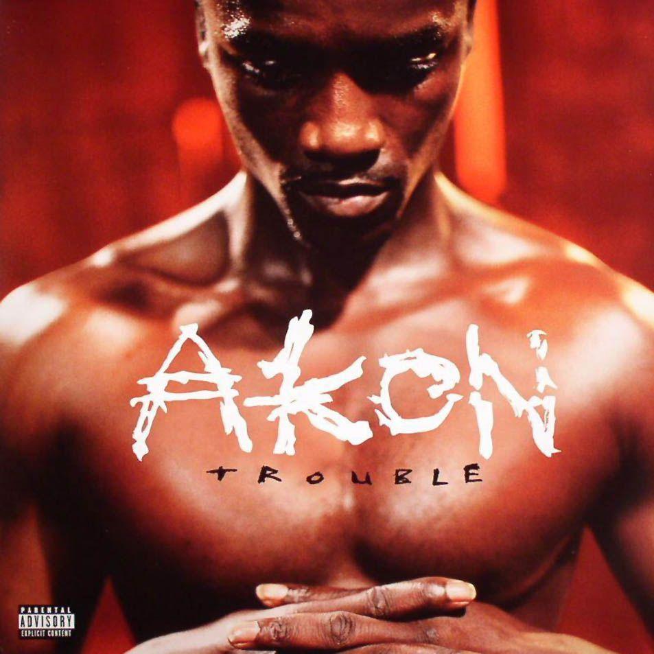 Akon - Trouble album cover
