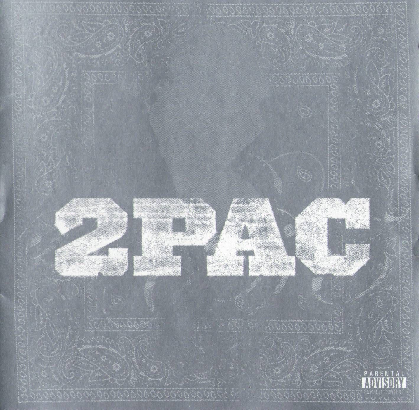 2pac - Live album cover