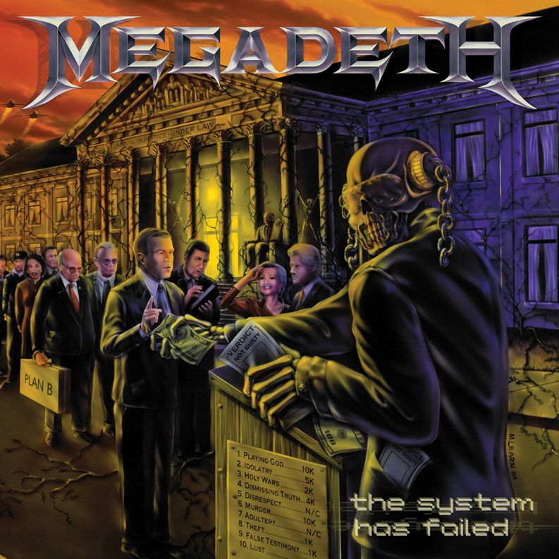 Megadeth - The System Has Failed album cover