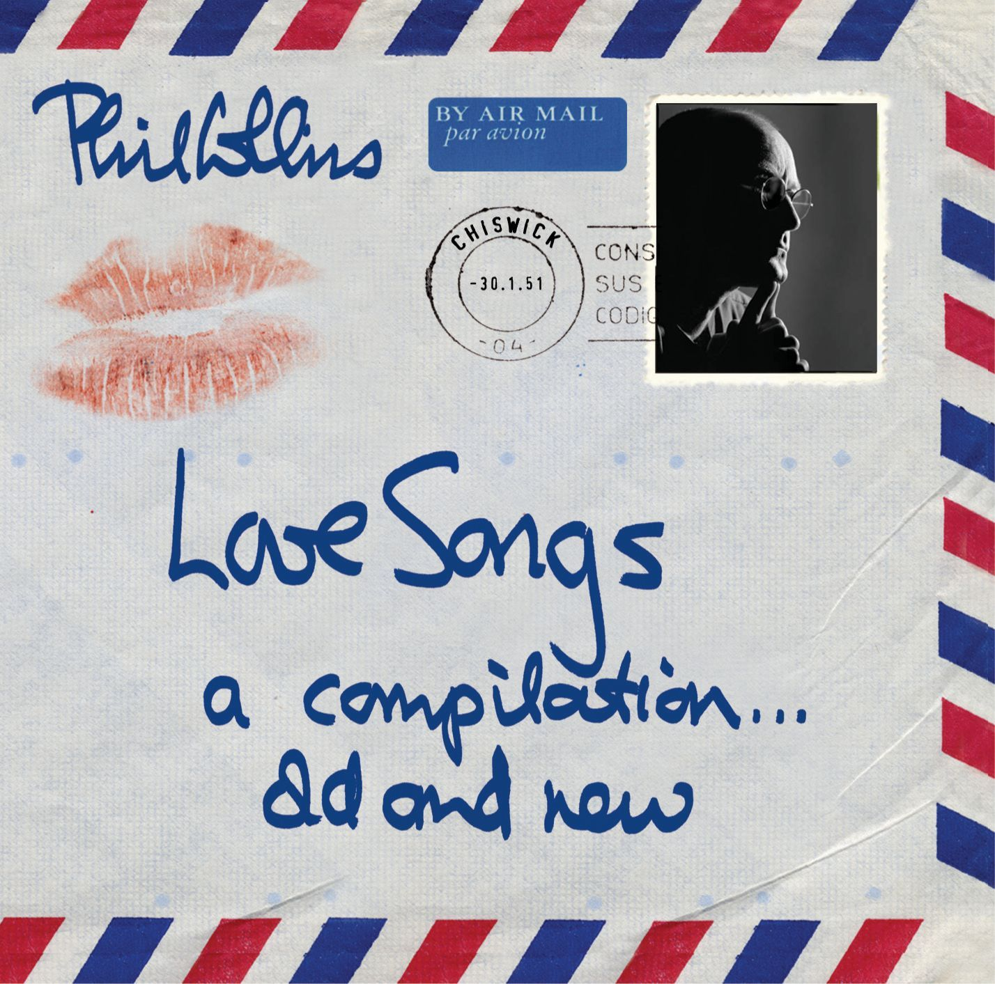 Phil Collins - Love Songs: A Compilation... Old And New album cover