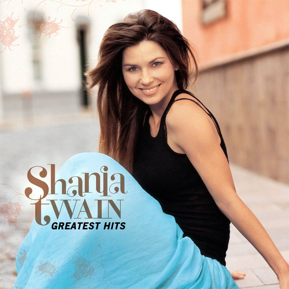 Shania Twain - Greatest Hits album cover