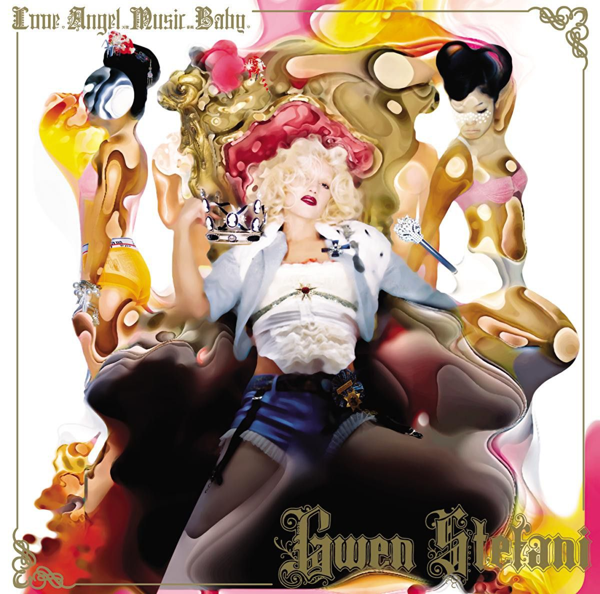Gwen Stefani - Love, Angel, Music, Baby album cover