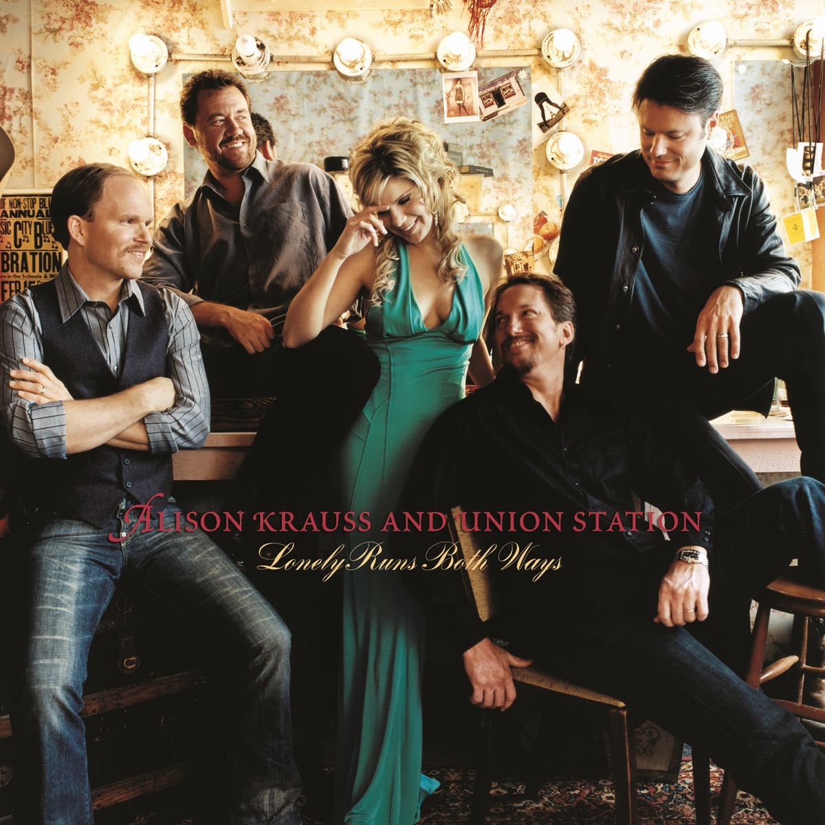 Alison Krauss - Lonely Runs Both Ways album cover