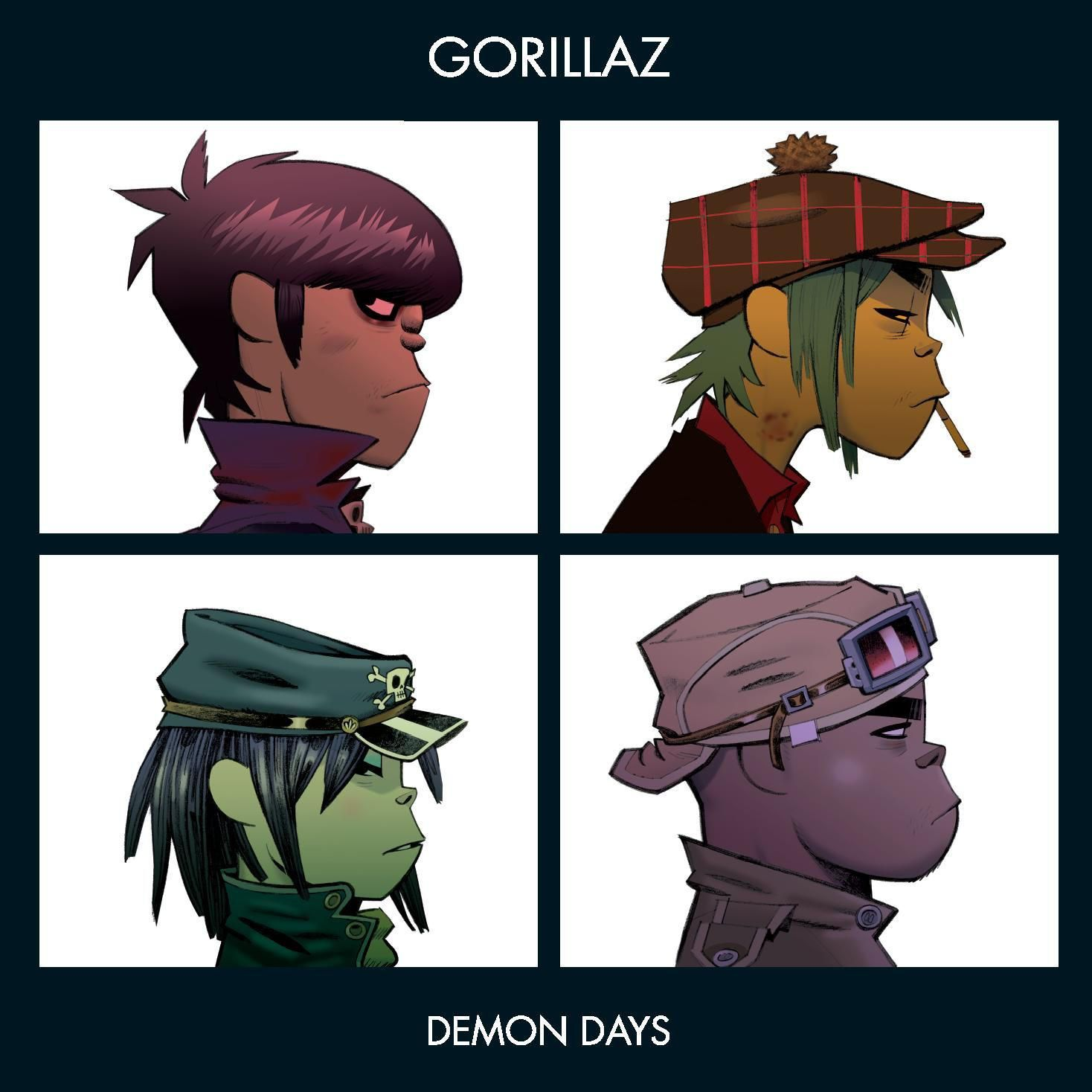 Gorillaz - Demon Days album cover