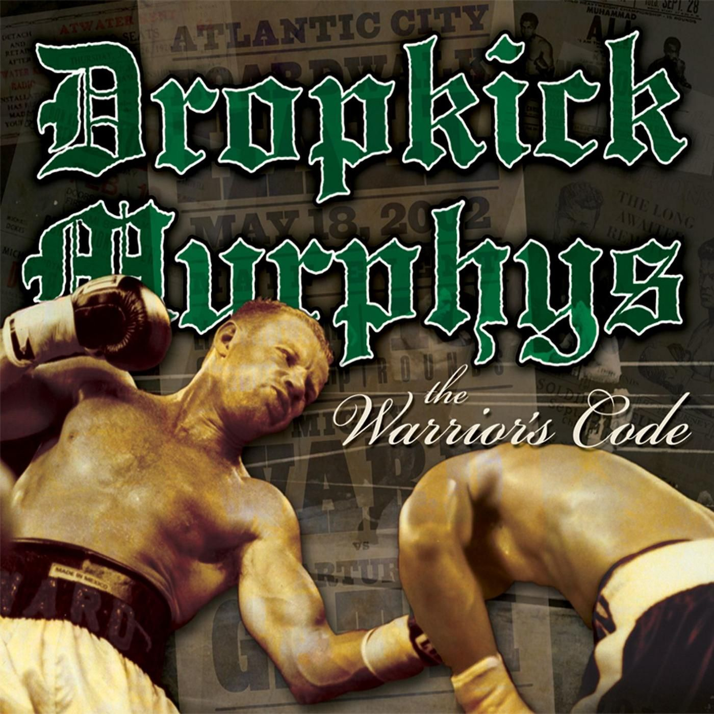 Dropkick Murphys - The Warrior's Code album cover