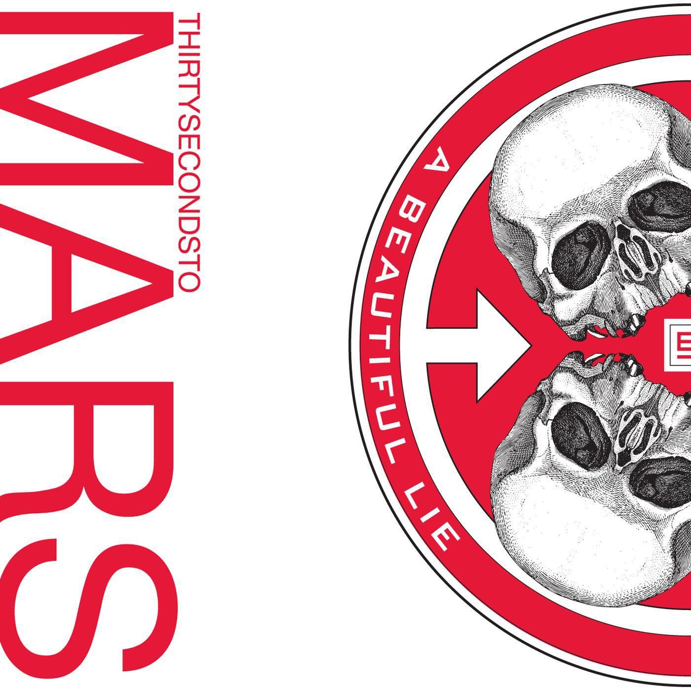 30 Seconds To Mars - A Beautiful Lie album cover