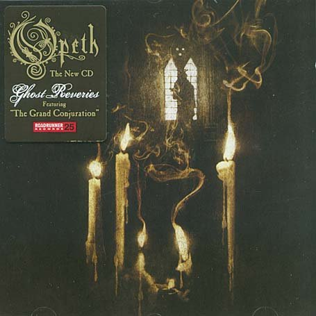 Opeth - Ghost Reveries album cover