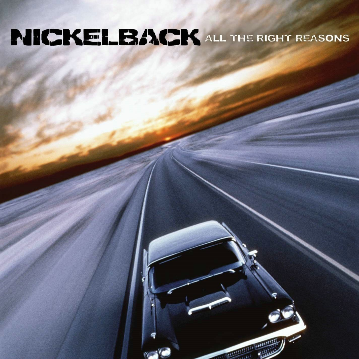Nickelback - All The Right Reasons album cover