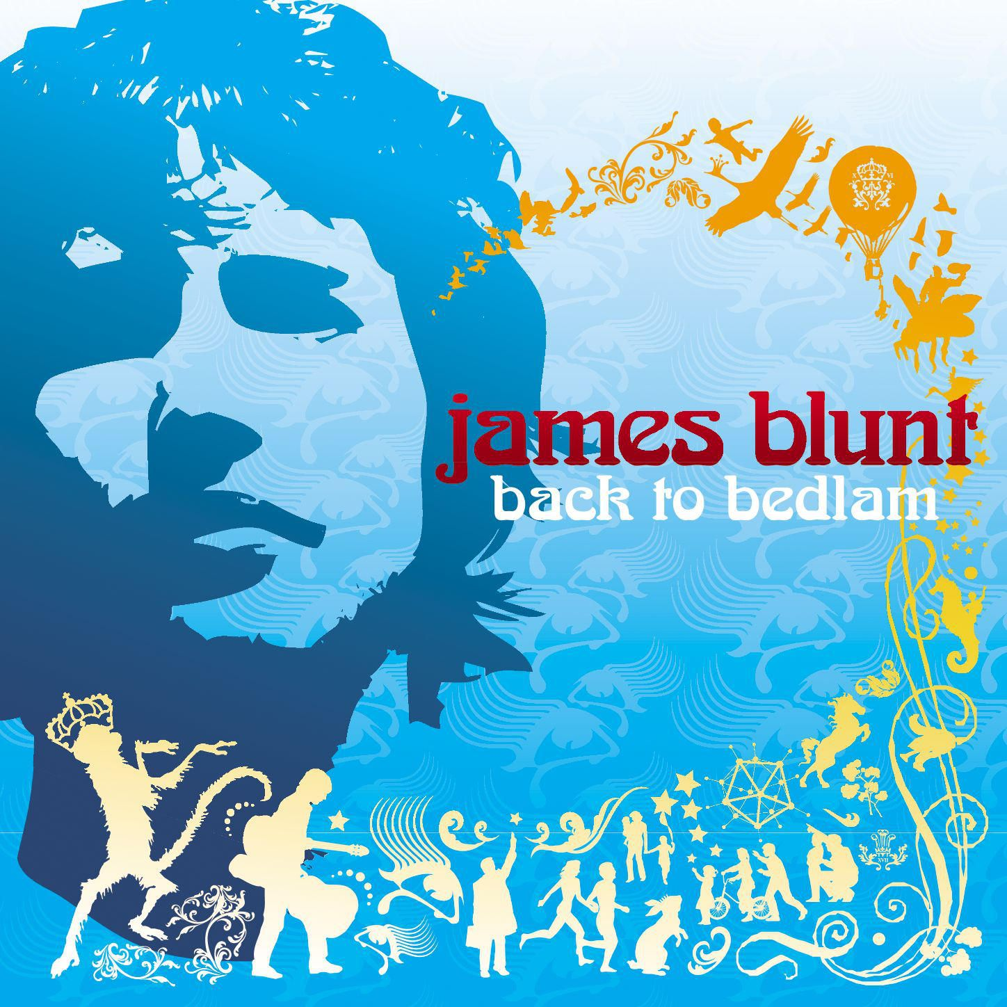 James Blunt - Back To Bedlam album cover