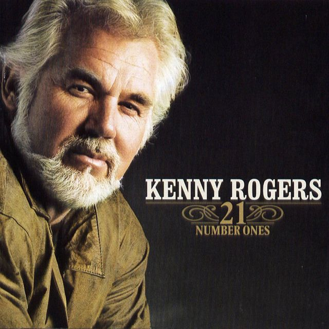 Kenny Rogers - 21 Number Ones album cover