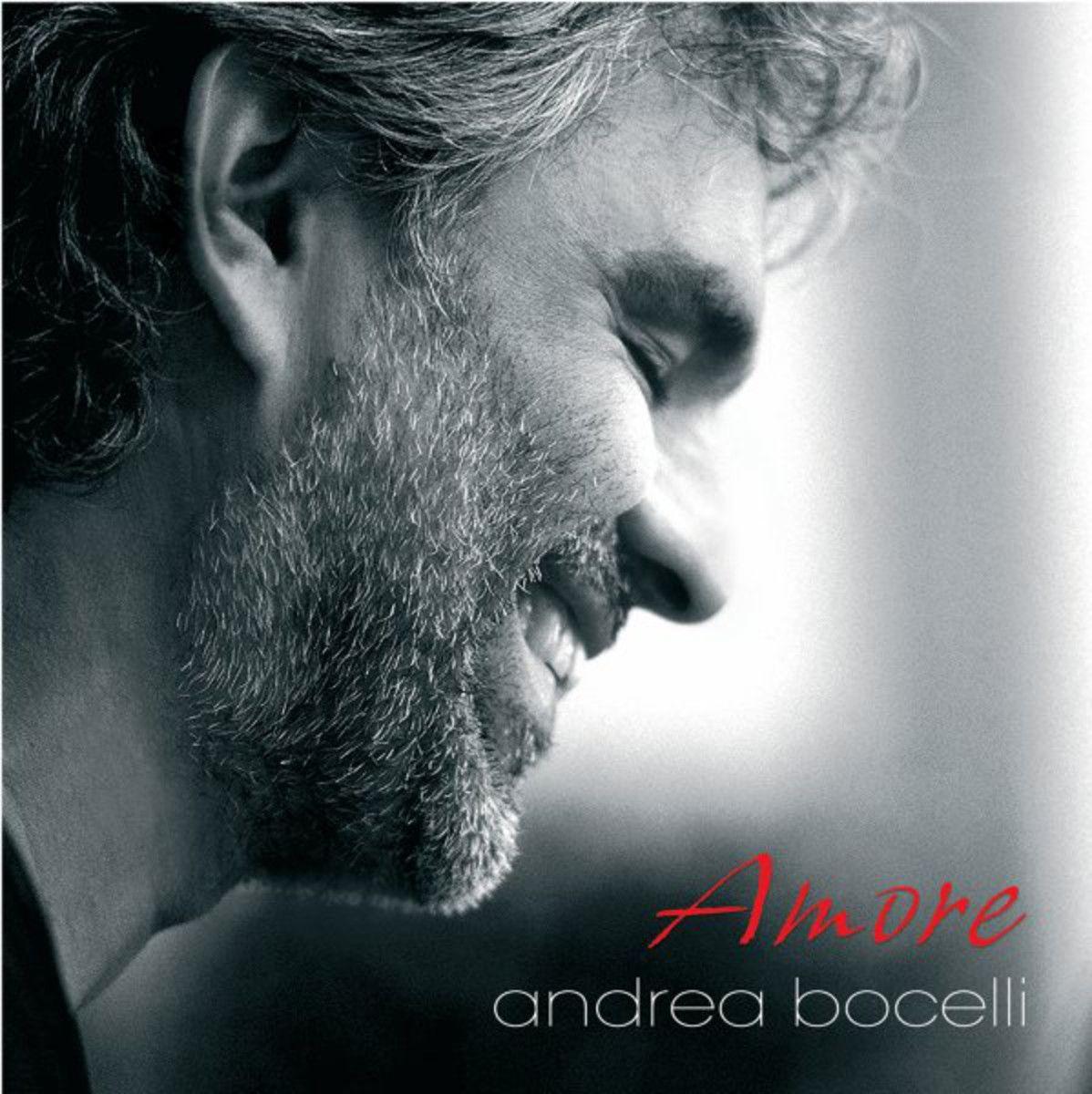 Andrea Bocelli - Amore album cover