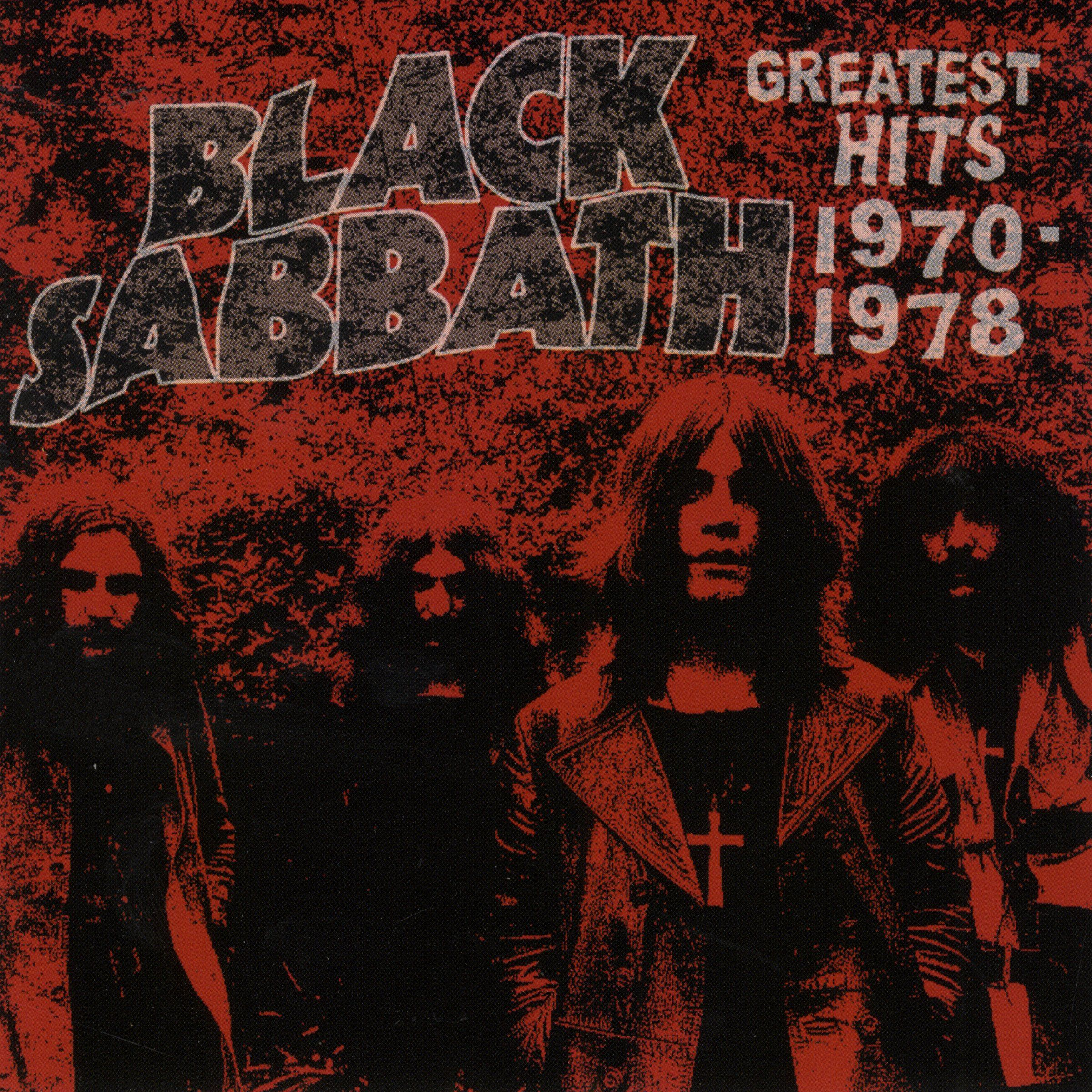 Black Sabbath - Greatest Hits 1970-1978 album cover