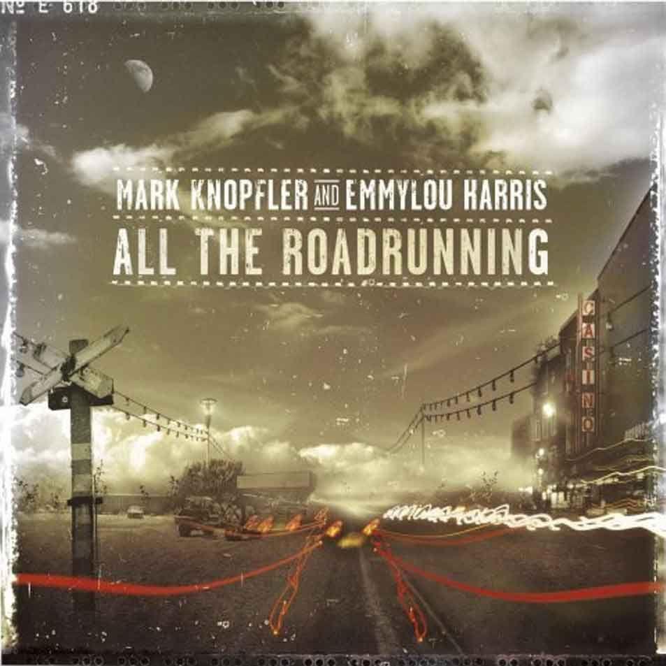 Mark Knopfler - All The Roadrunning album cover