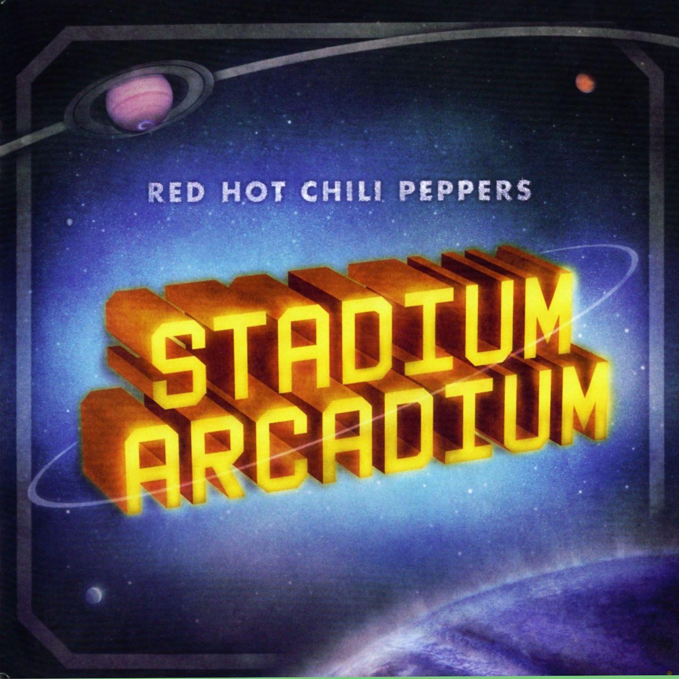 Red Hot Chili Peppers - Stadium Arcadium album cover