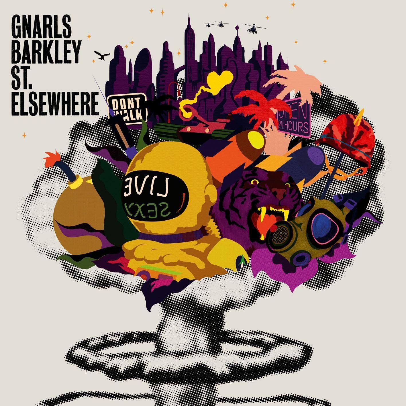 Gnarls Barkley - St. Elsewhere album cover