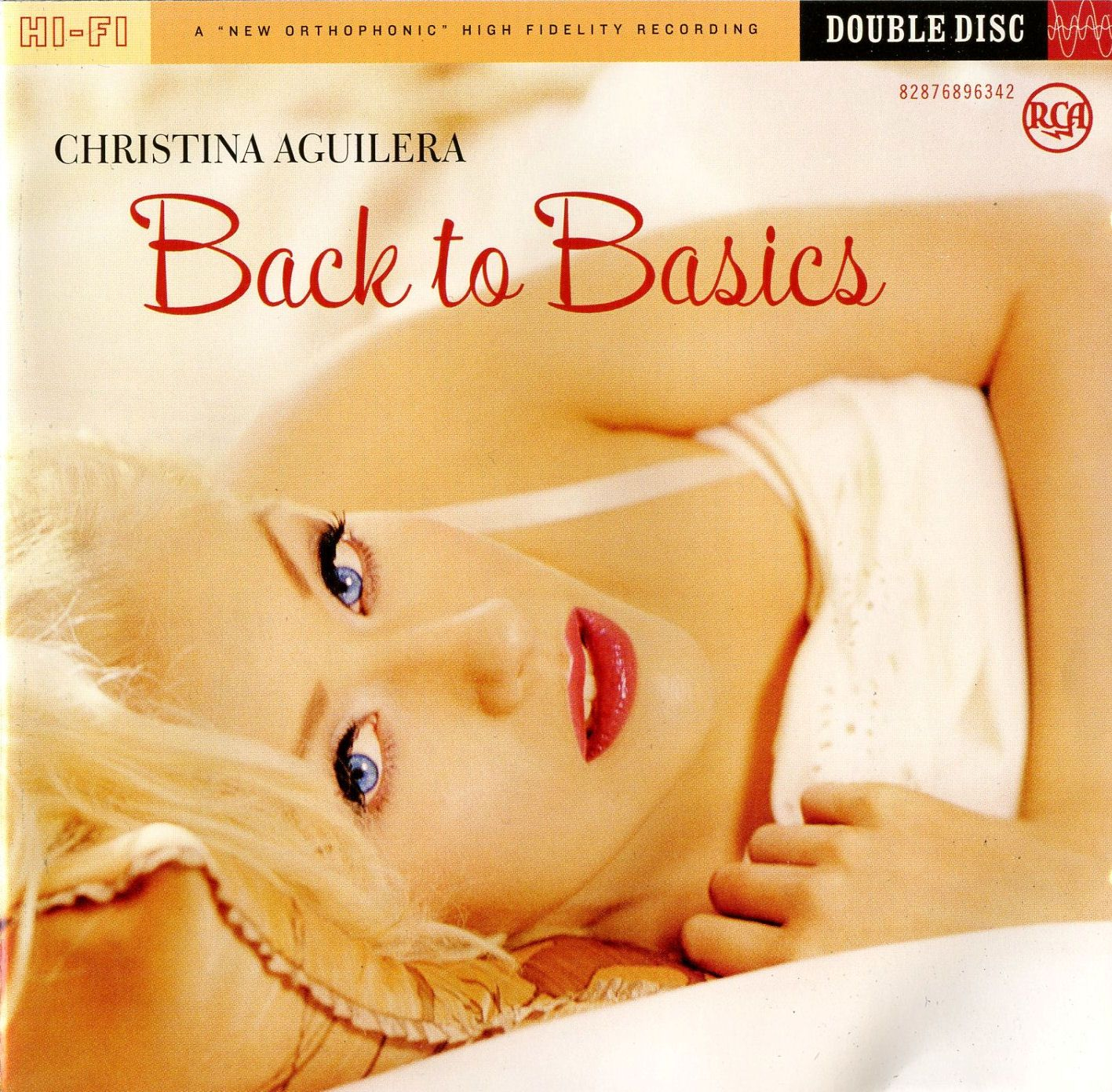 Christina Aguilera - Back To Basics album cover