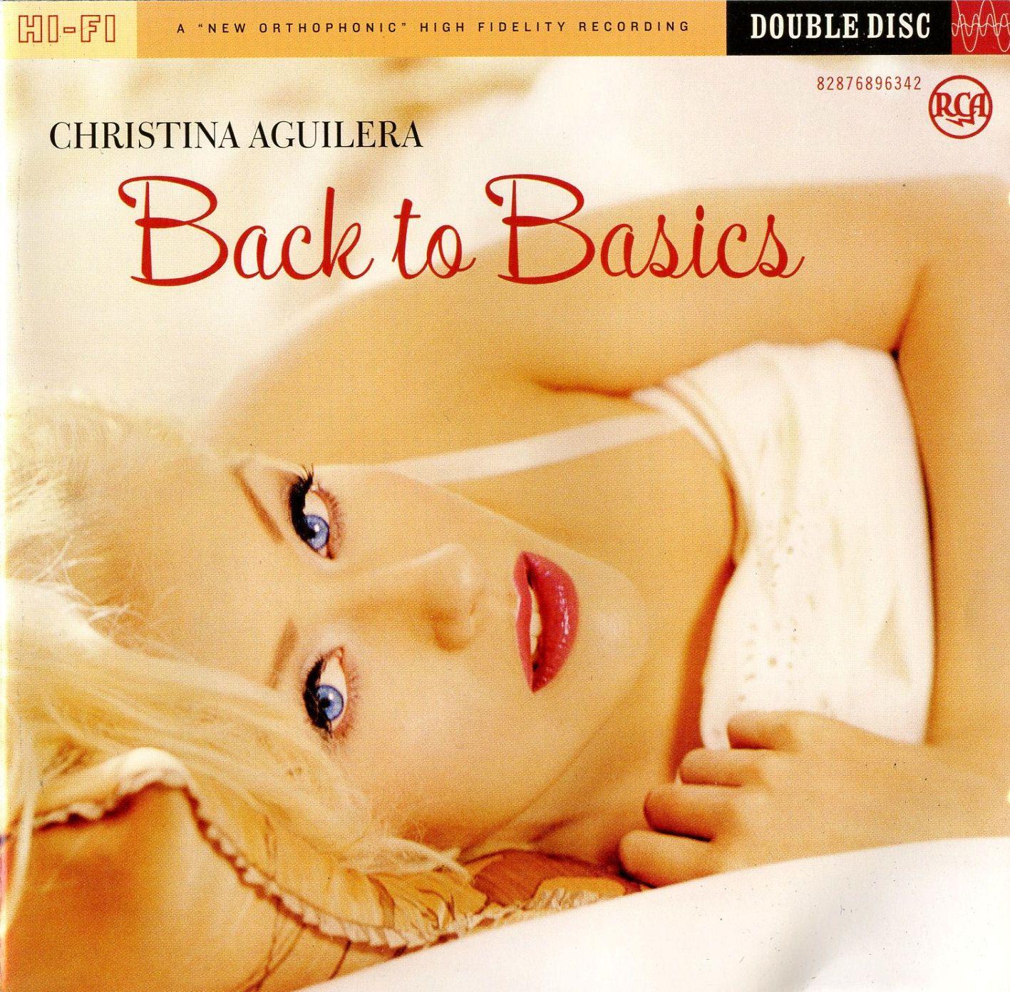 Christina Aguilera - Back To Basics album cover