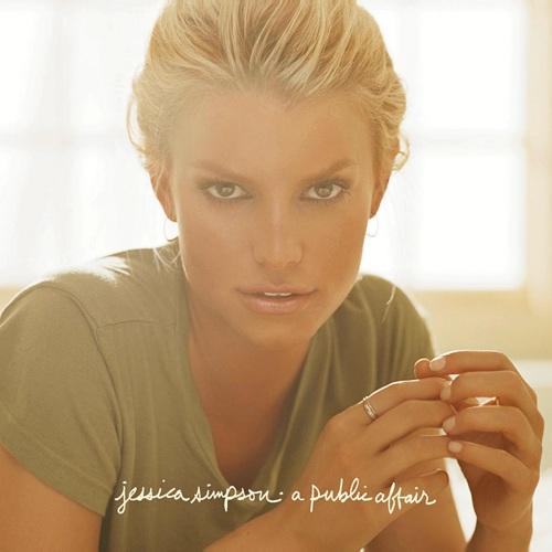 Jessica Simpson - A Public Affair album cover