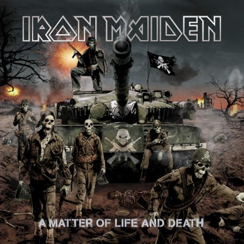Iron Maiden - A Matter Of Life And Death album cover