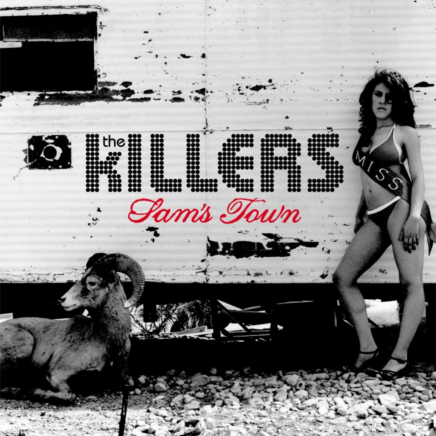 The Killers - Sam's Town album cover