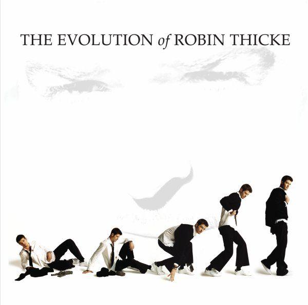 Robin Thicke - The Evolution Of Robin Thicke album cover