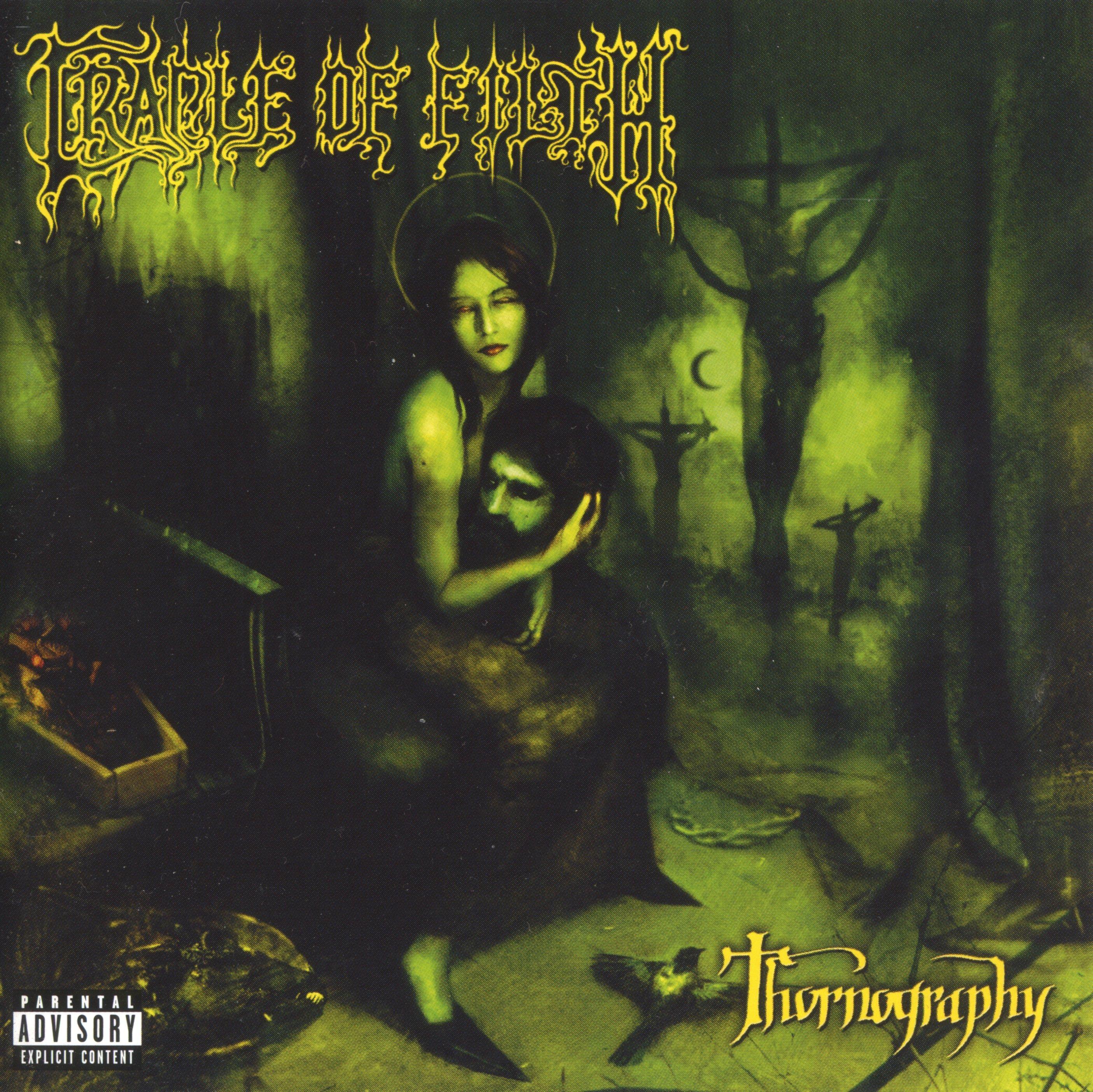 Cradle Of Filth - Thornography album cover