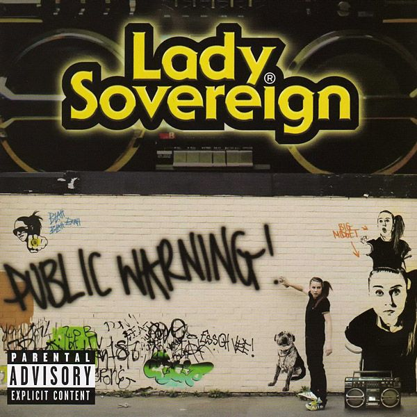 Lady Sovereign - Public Warning album cover