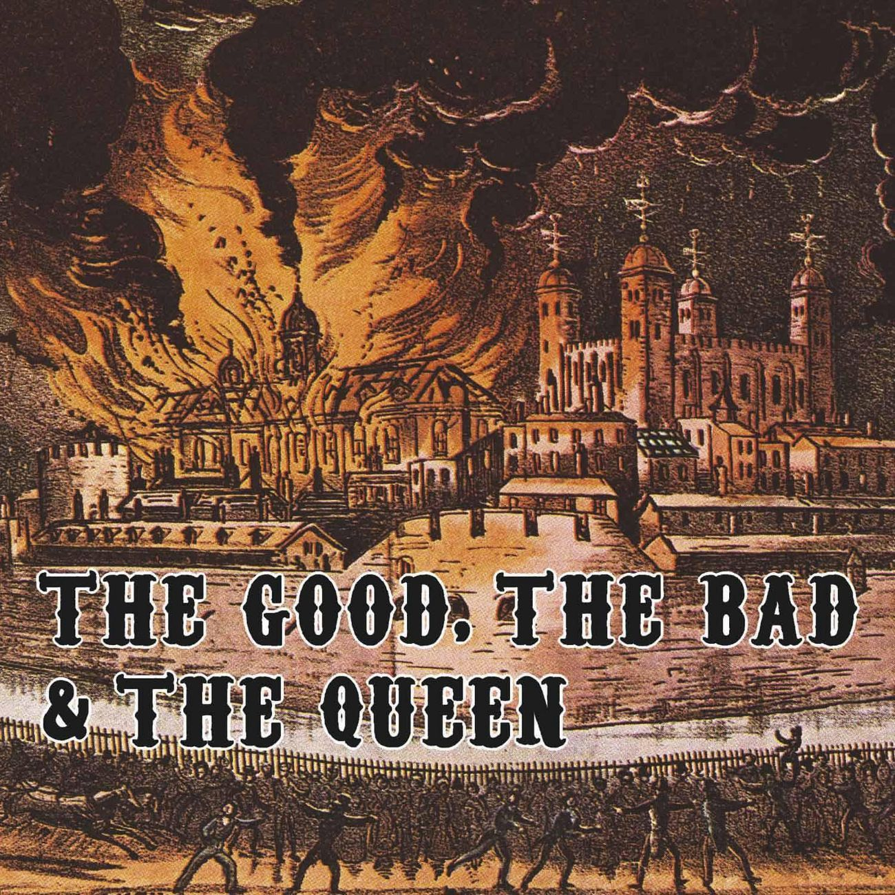 The Good, The Bad and The Queen - The Good, The Bad & The Queen album cover