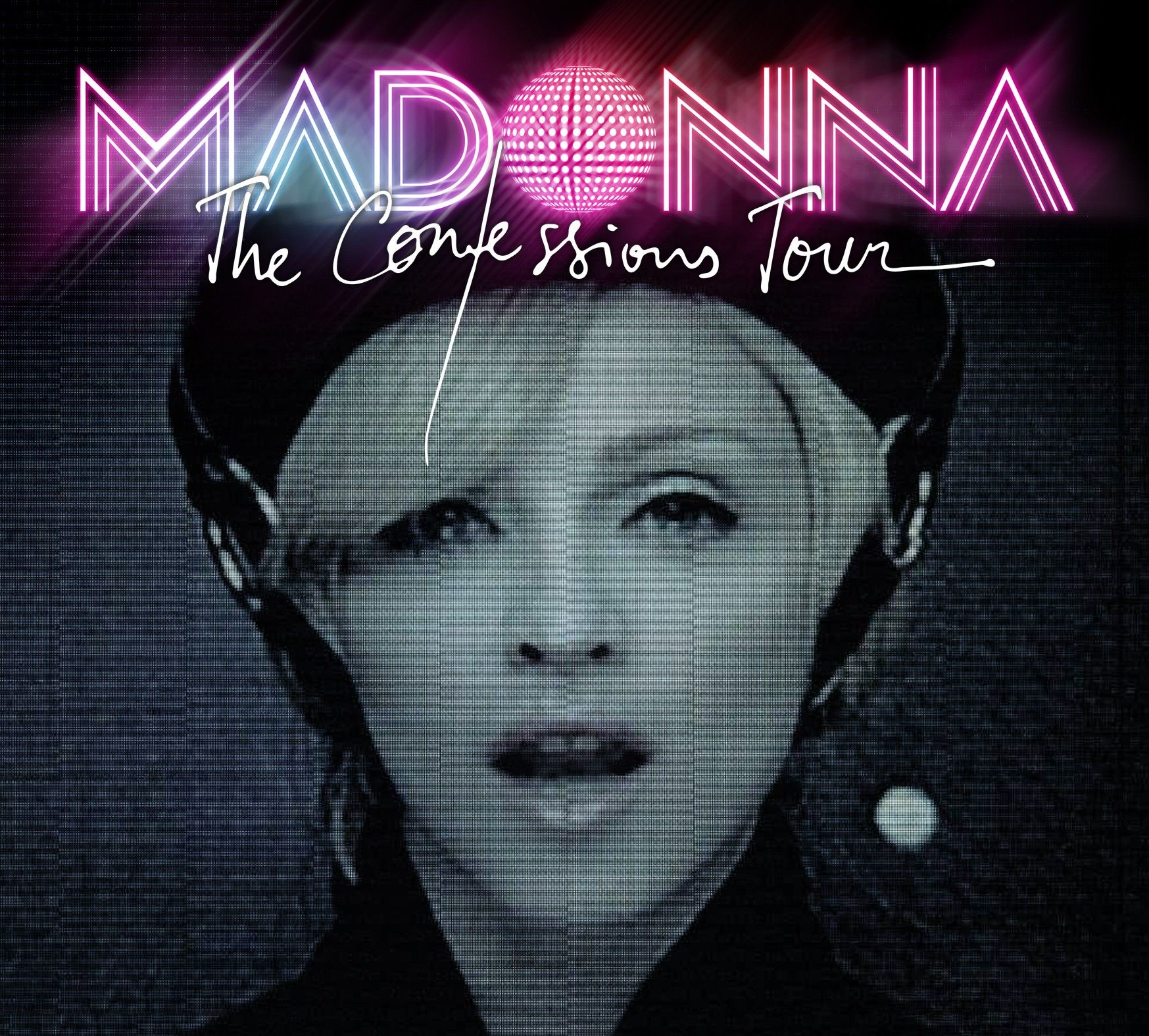 Madonna - The Confessions Tour album cover