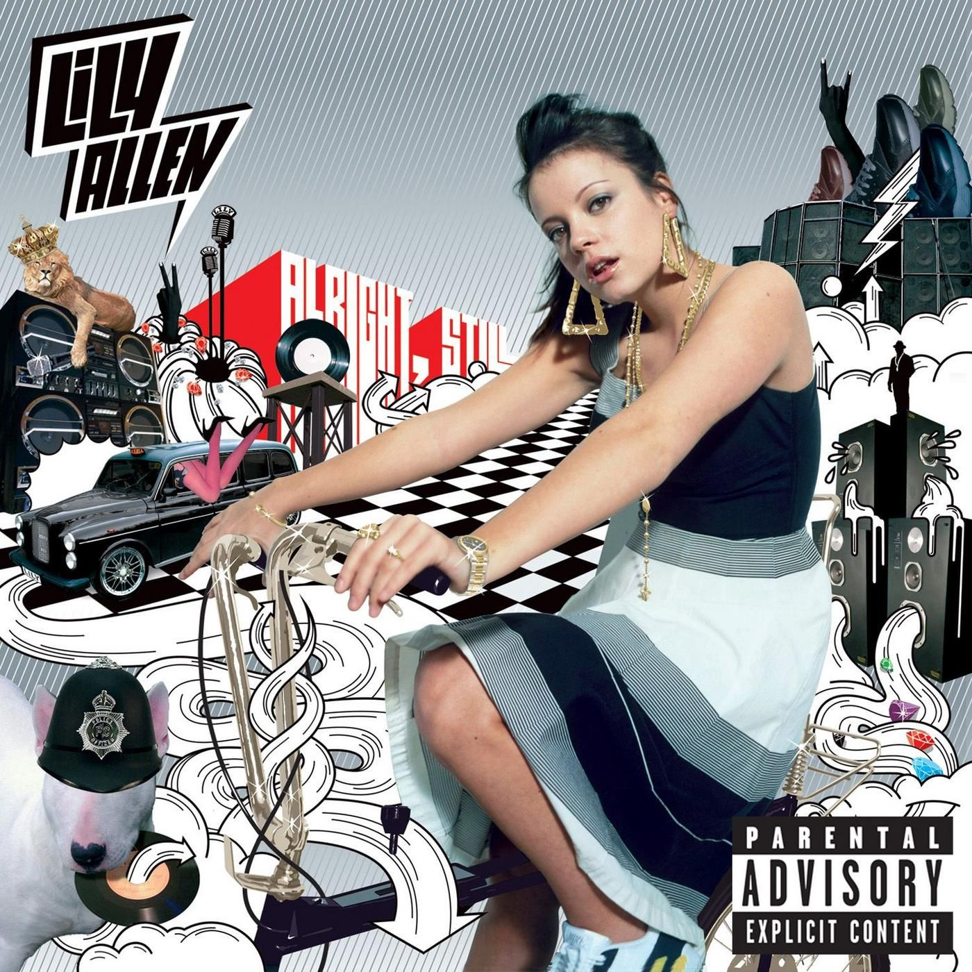 Lily Allen - Alright, Still... album cover