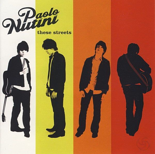Paolo Nutini - These Streets album cover