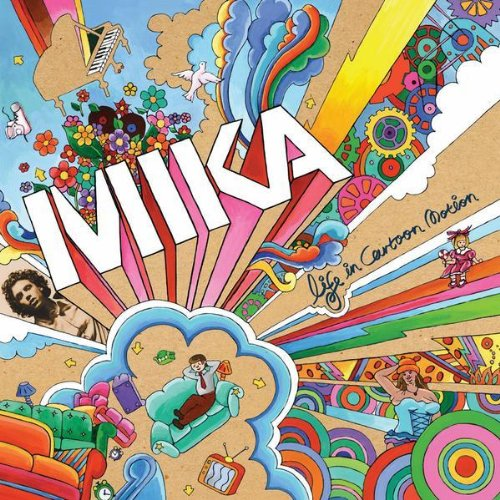 Mika - Life In Cartoon Motion album cover