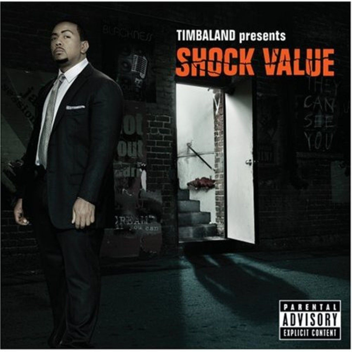 Timbaland - Timbaland Presents Shock Value album cover