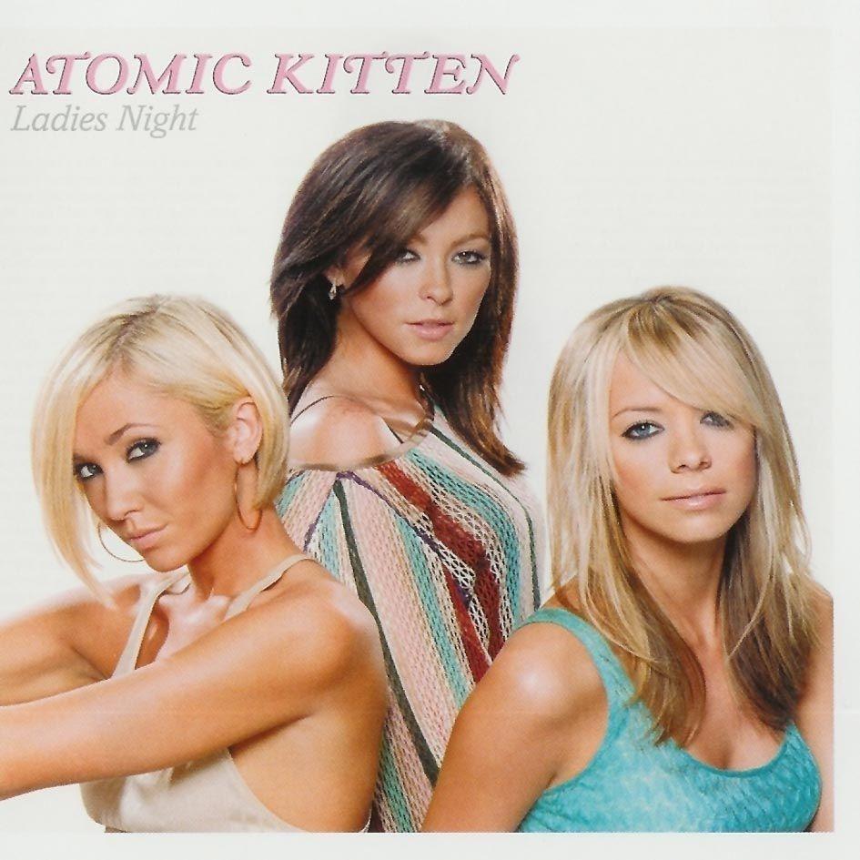 Atomic Kitten - Ladies Night album cover