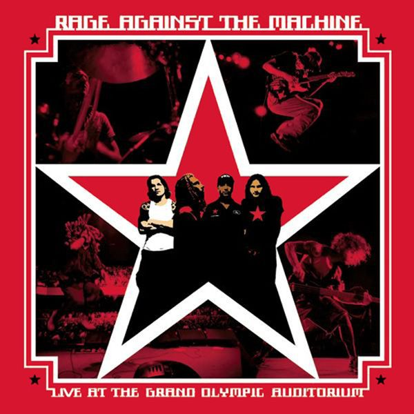 Rage Against The Machine - Live At The Grand Olympic Auditorium album cover