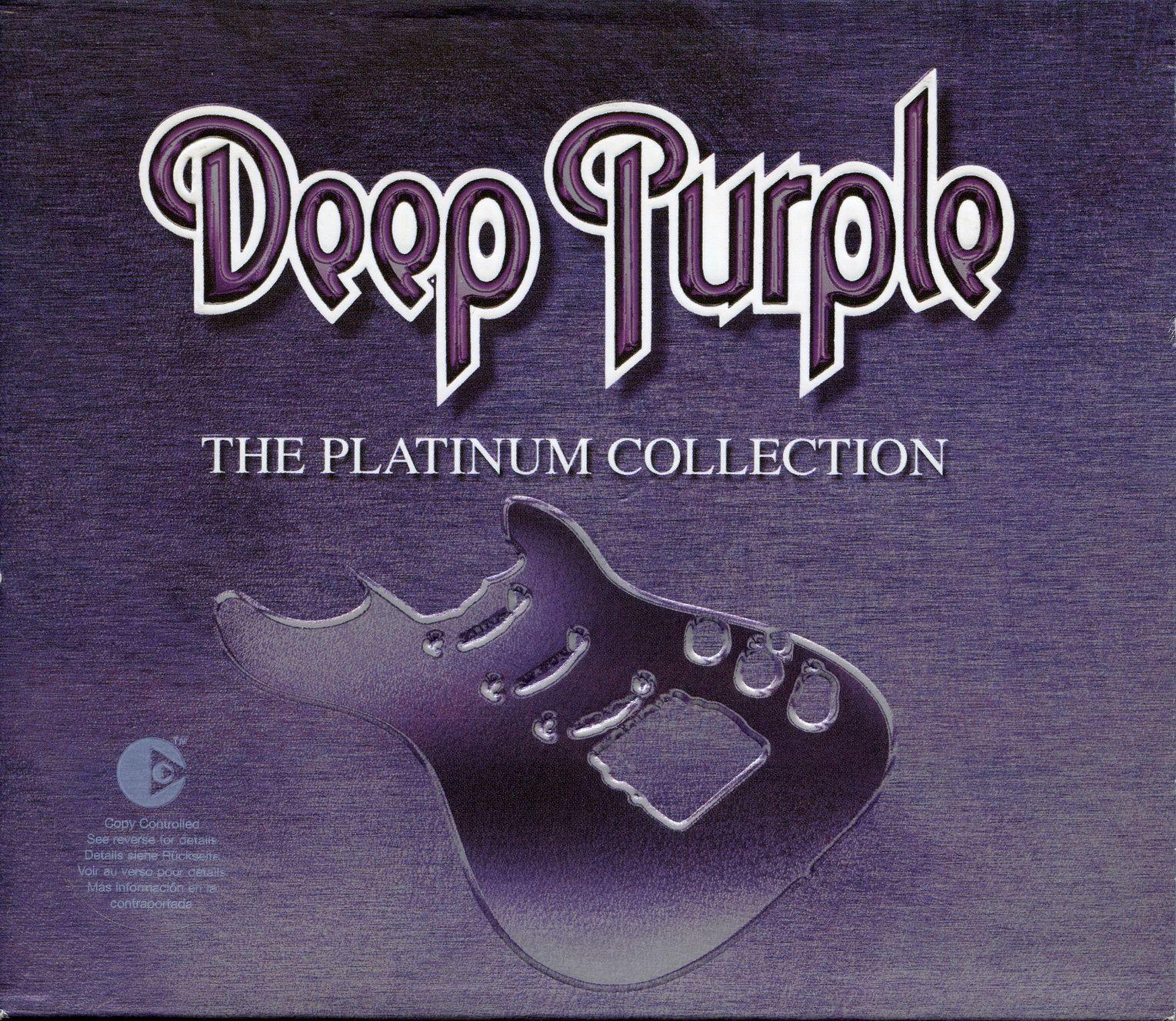 Deep Purple - The Platinum Collection album cover