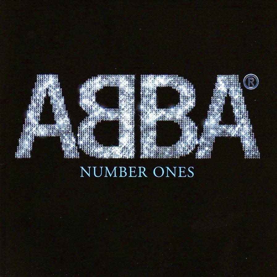 ABBA - Number Ones album cover