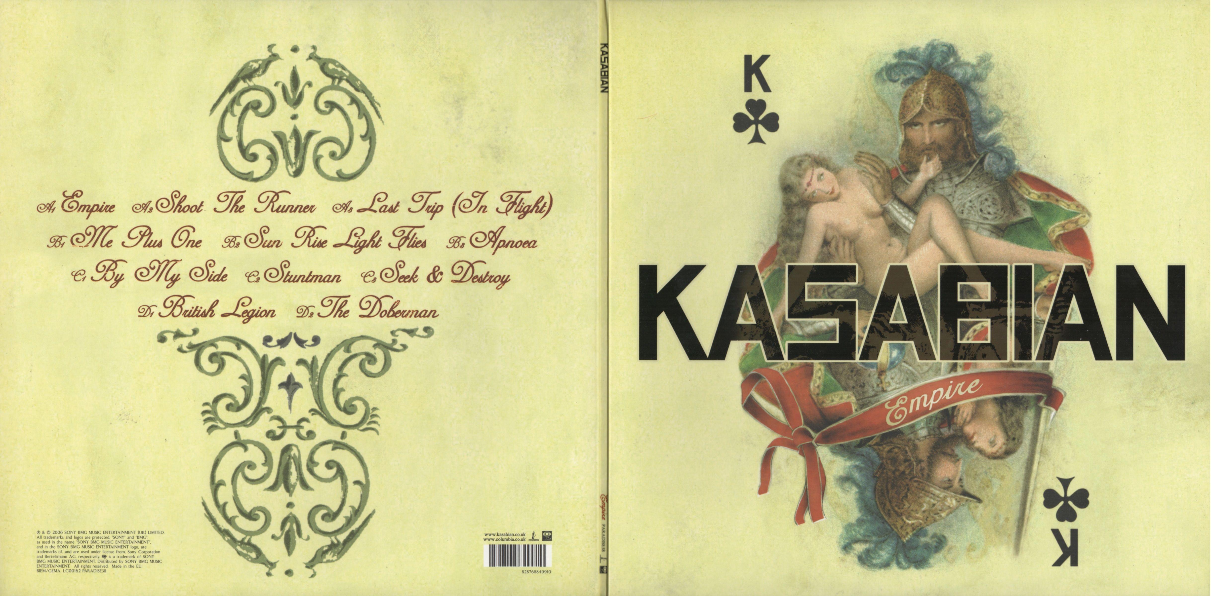 Kasabian - Empire album cover
