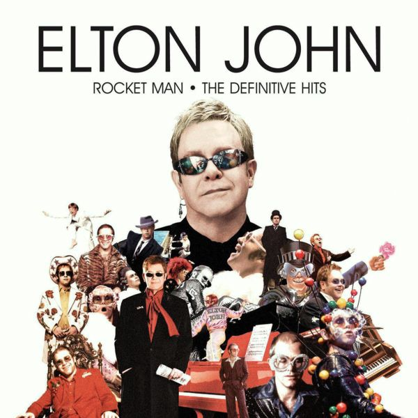 Elton John - Rocket Man - The Definitive Hits album cover