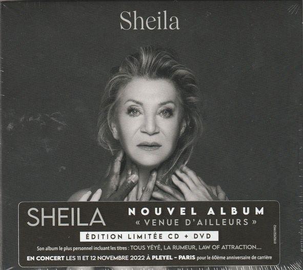 Sheila - Venue D'ailleurs album cover