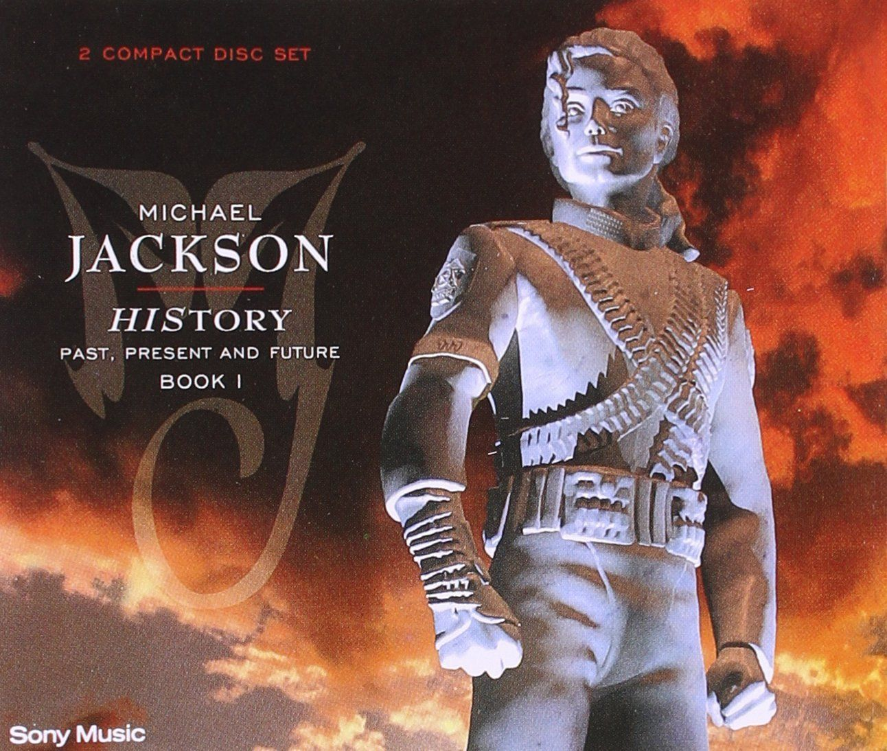 Michael Jackson - Greatest Hits - History Volume 1 album cover