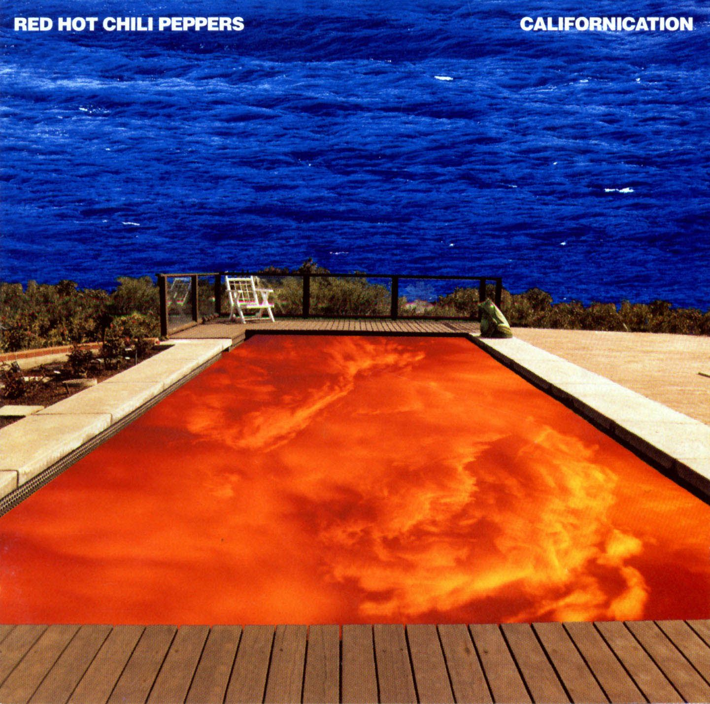 Red Hot Chili Peppers - Californication album cover