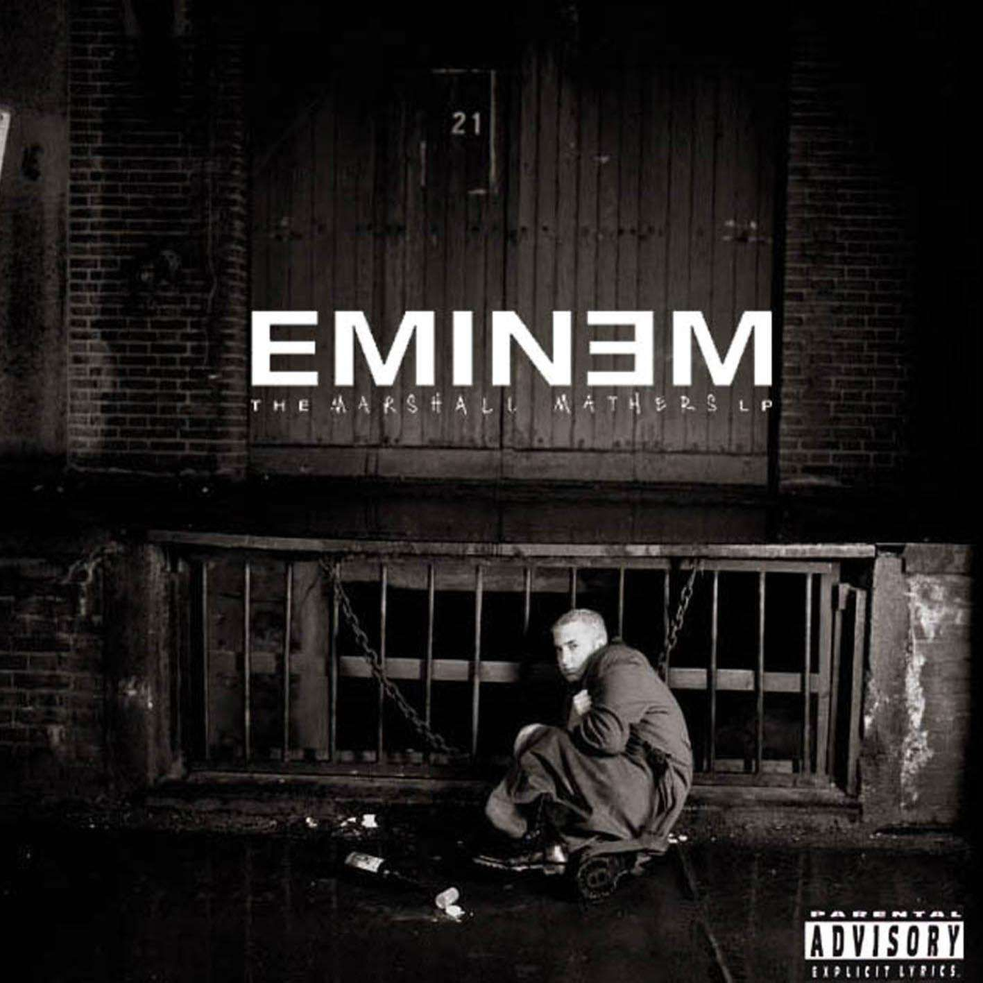 Eminem - The Marshall Mathers Lp album cover