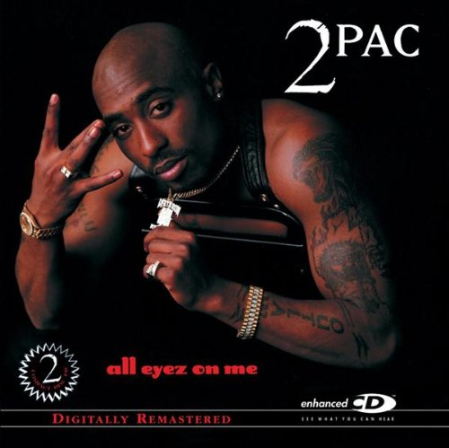 2pac - All Eyez On Me album cover