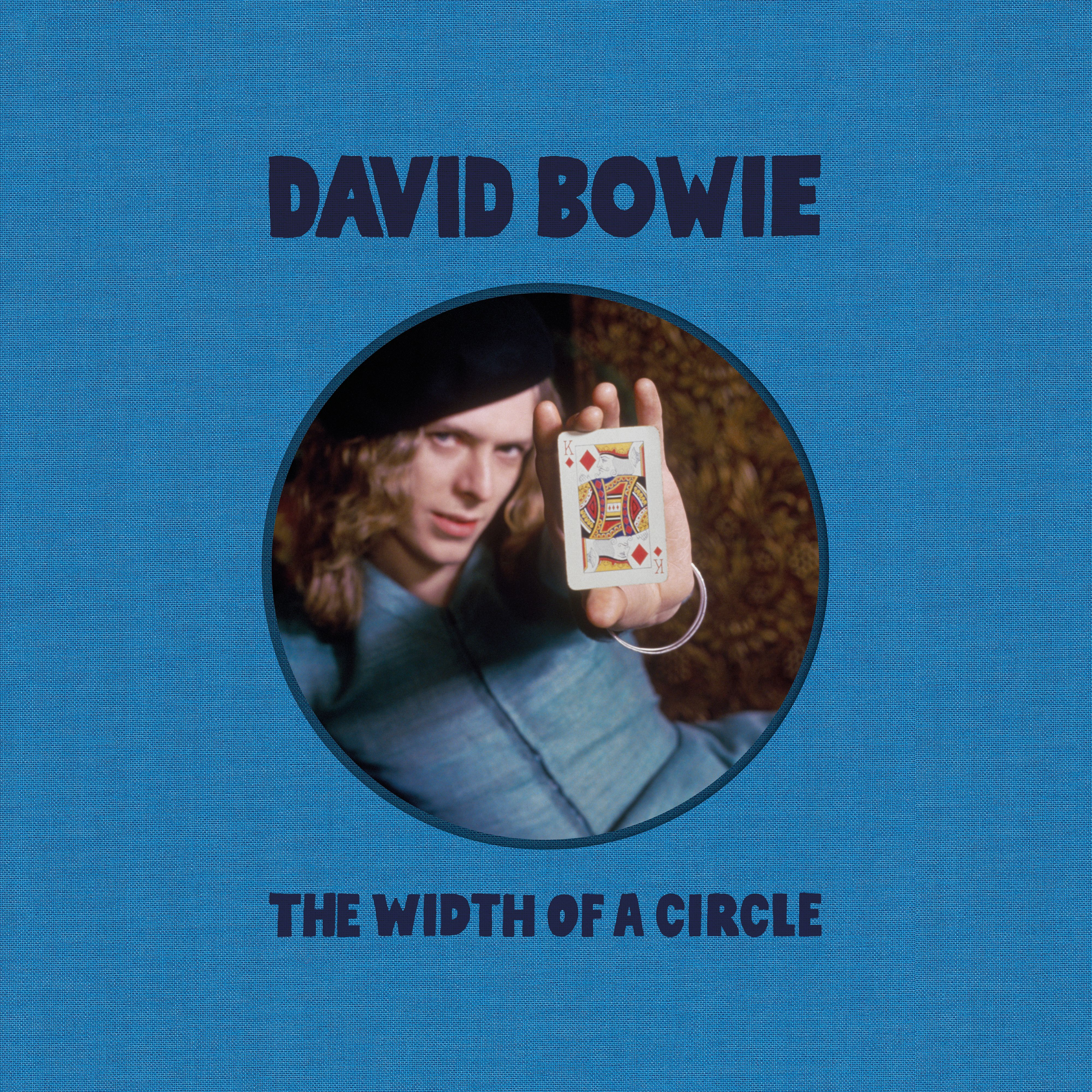 David Bowie - The Width Of A Circle album cover