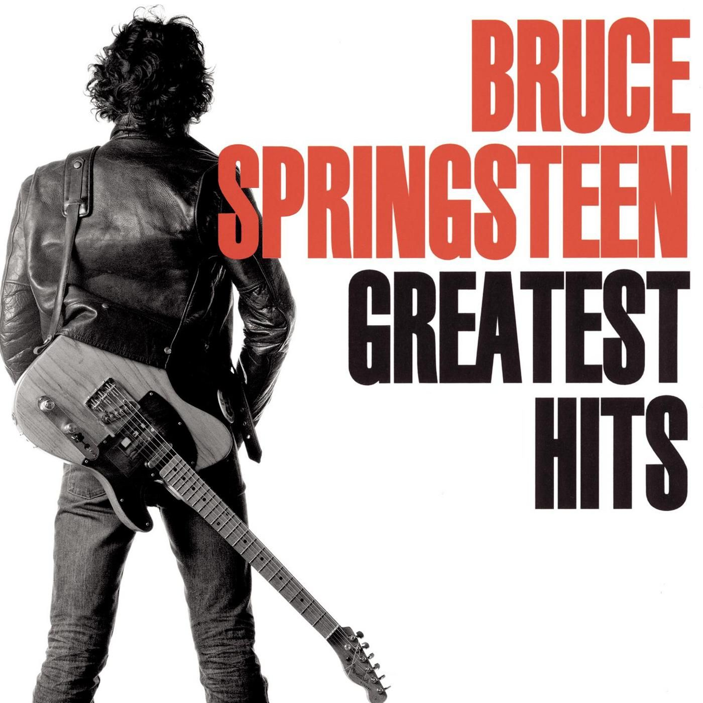 Bruce Springsteen - Greatest Hits album cover
